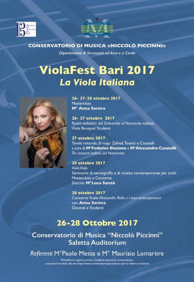 ViolaFest locale a Bari