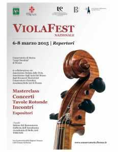Locandina ViolaFest Nazionale 2015