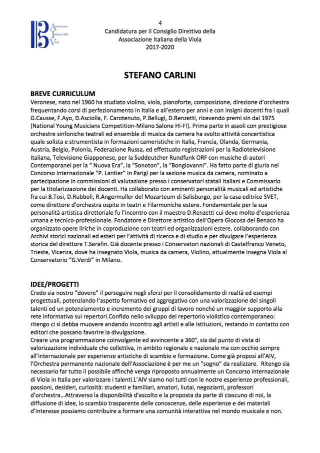 CARLINICandidaturaConsiglioDirettivoAIV