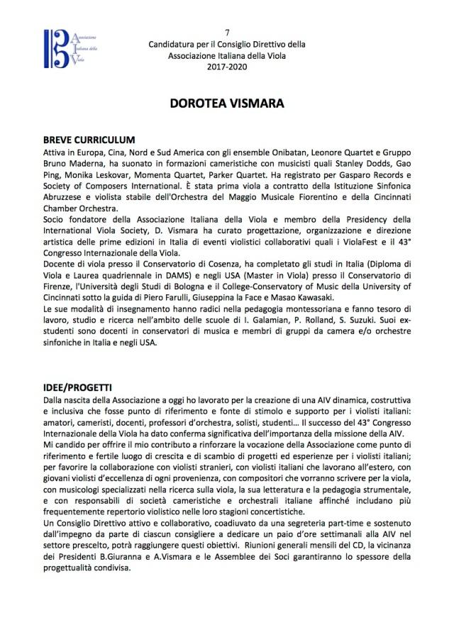 VISMARACandidaturaConsiglioDirettivoAIV