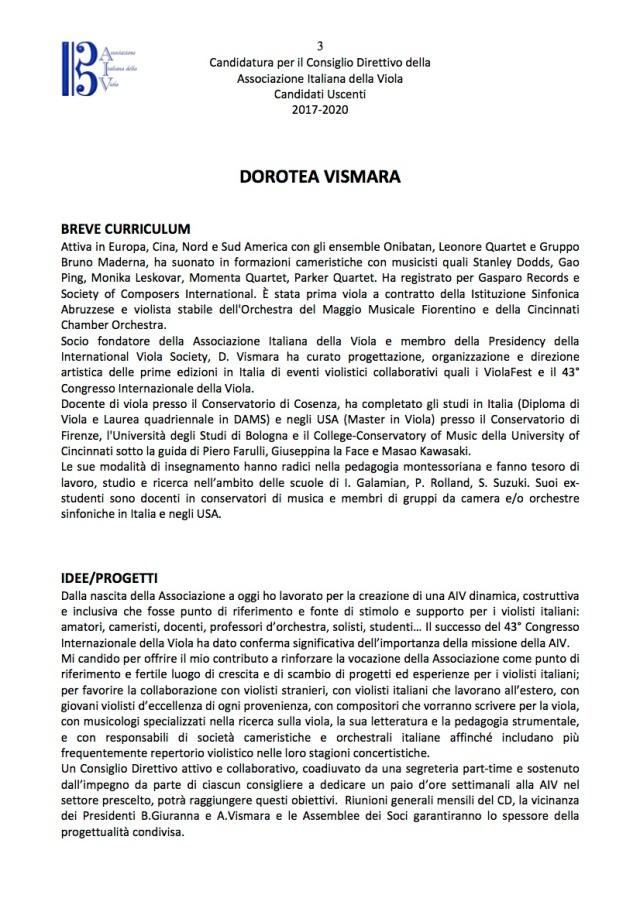 Candidati Consiglio Direttivo AIV Uscenti 3