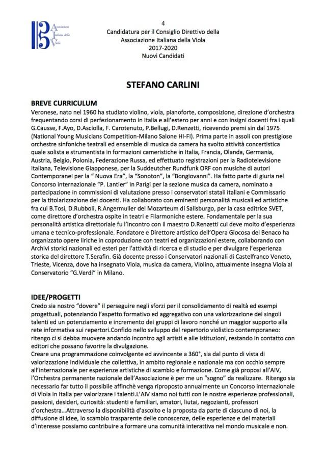 Nuovi Candidati Consiglio Direttivo AIV 4
