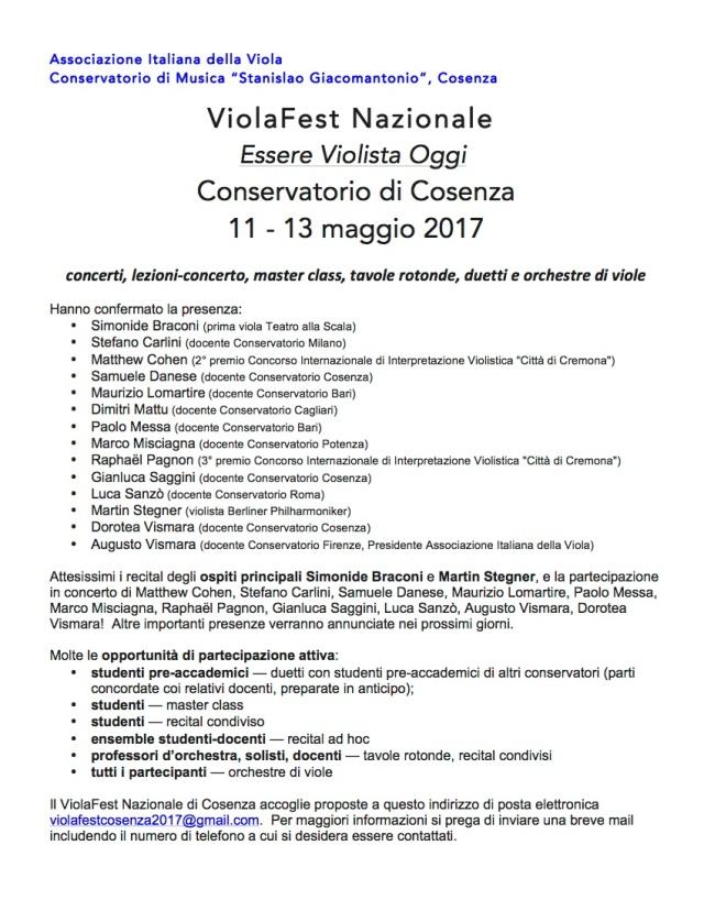 ViolaFest Nazionale 2017-1